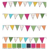 Bunting (30 x 30 cm section)